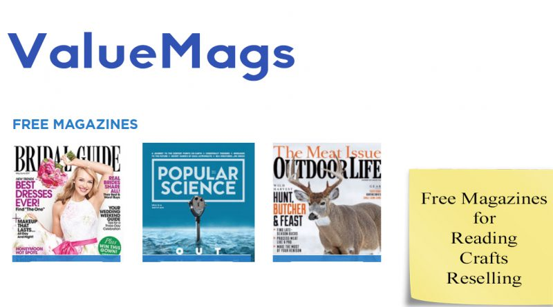 ValueMags Free Magazines