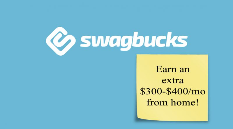 Swagbucks Earn Money From Home